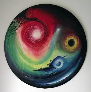 art for sale, modern wall art, space art oil painting, oil paintings for sale, buy art online, painting in oils.