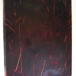 Mr Pilgrim original canvas art for sale, modern wall art canvas, dark art, bitch art on canvas, dark artwork, acrylic paintings.