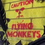Graffiti artist Mr Pilgrim - mixed media art for sale, textured art, 3d art on canvas, textured wall art, wizard of oz, street art to buy, stencil art.