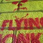 Graffiti artist Mr Pilgrim - textured art, 3d art on canvas, textured wall art, wizard of oz, street art to buy, stencil art.