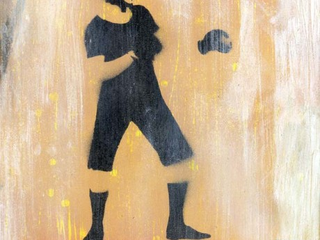 Mr Pilgrim Graffiti Art for Sale - Boxer | boxing art, vintage art, old style, stencil art