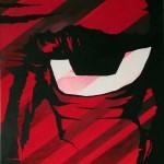 Canvas art paintings Mr Pilgrim buy art online, abstract acrylic painting, modern wall art canvas, pop art on canvas