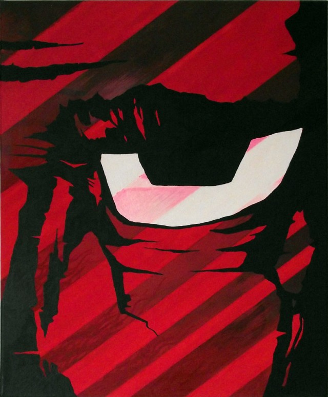 Red Eye - Canvas Art Paintings Mr Pilgrim