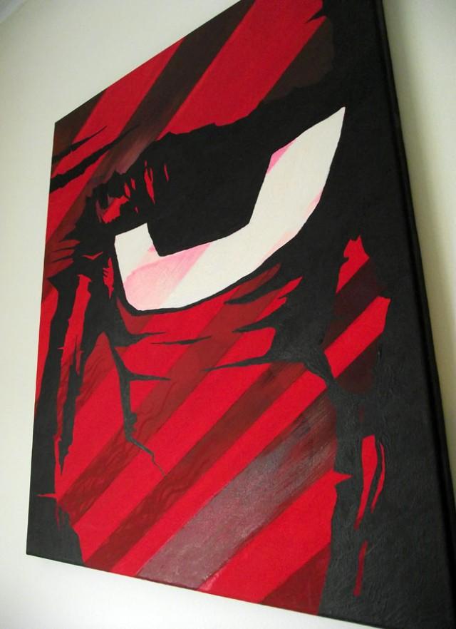 Red Eye 2 - Canvas Art Paintings Mr Pilgrim