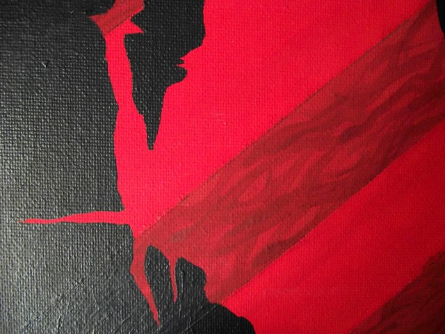 Red Eye 3 - Canvas Art Paintings Mr Pilgrim