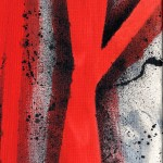 Mr Pilgrim canvas art paintings, abstract acrylic painting, modern wall art canvas, pop art on canvas