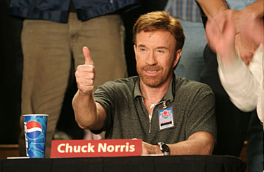 Chuck Norris says Like it!