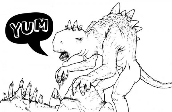 Zombie Dinosaur! – Mr Pilgrim