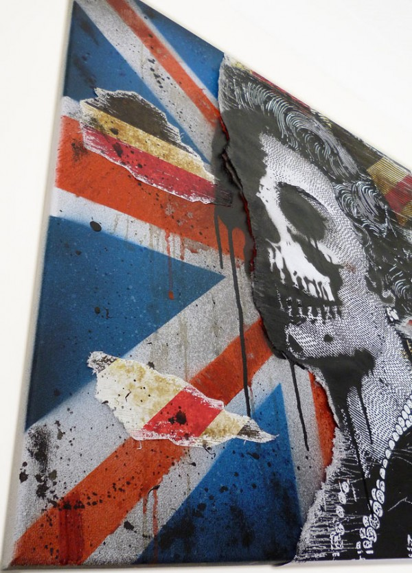 urban art for sale, mr pilgrim, god save the queen.