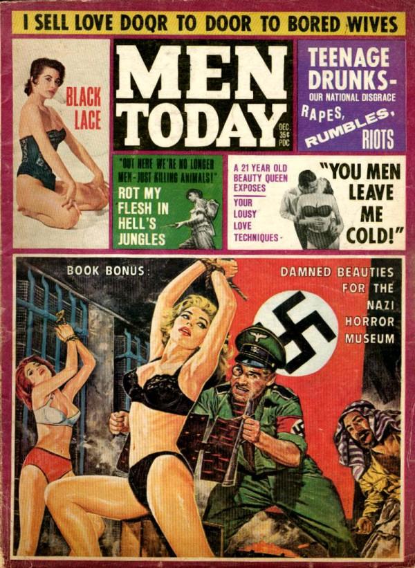 Old Magazine Covers 10 - trashy magazines, old magazines, classic art, mr pilgrim.