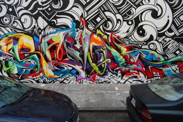 Funky Graffiti Lettering - Mr Pilgrim Street Artist Blog