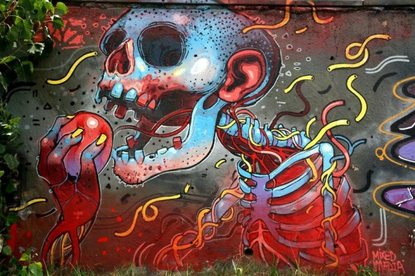 Collection of graffiti art & urban art on Mr Pilgrim online