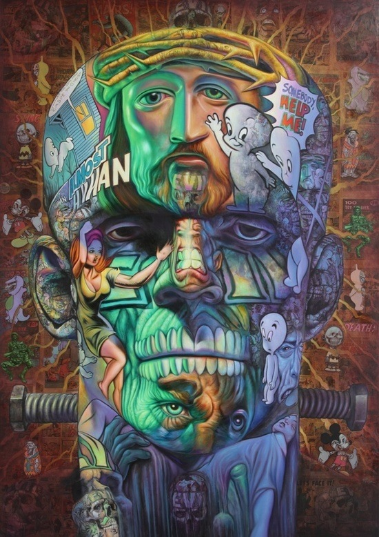cool urban art, street art online, mr pilgrim.