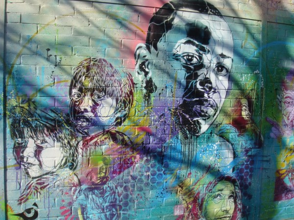 c215, french graffiti, graffiti artist, paris street artists, urban artist.