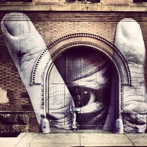 JR, street art