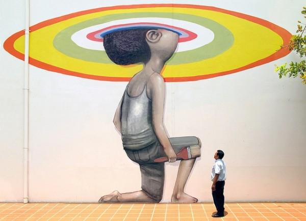 seth globepainter, seth street art online, graffiti art, urban artist, globe painter.