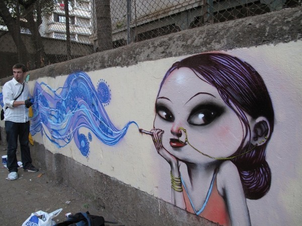 seth street art online, graffiti art, urban artist, globe painter.
