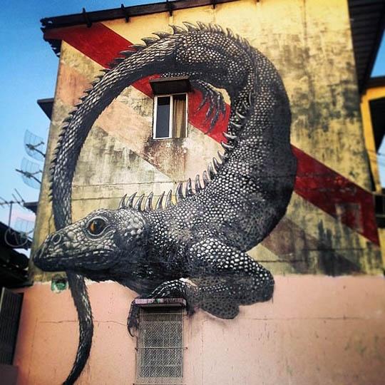 Street Artist : ROA