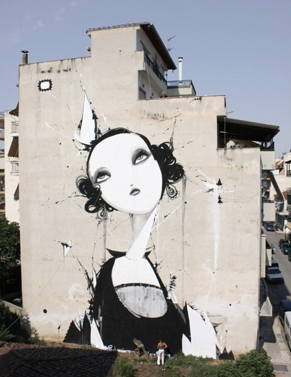 Great New Street Art Urban Art Mr Pilgrim Graffiti