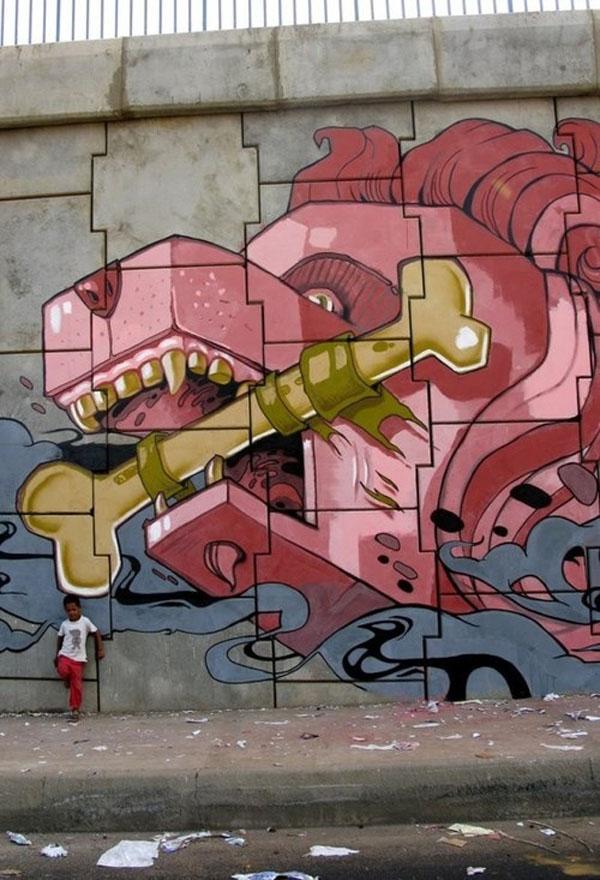 Fresh Colour! Hot Graffiti Street Art