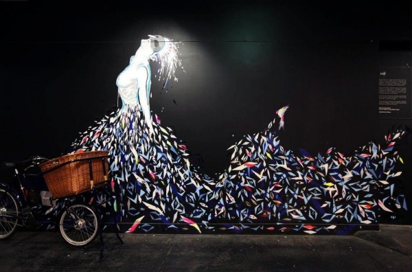 Unusual street art unique murals from around the world for Best mural artists