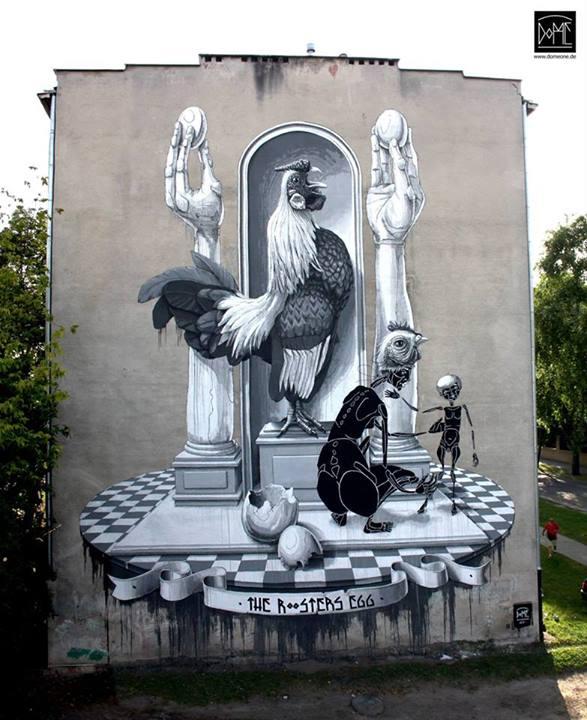 Unusual Street Art Unique Murals From Around The World
