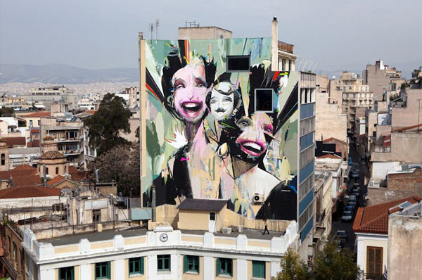 os gemeos, alexandros vasmoulakis, goin, greece, graffiti art, urban artist, urban art.