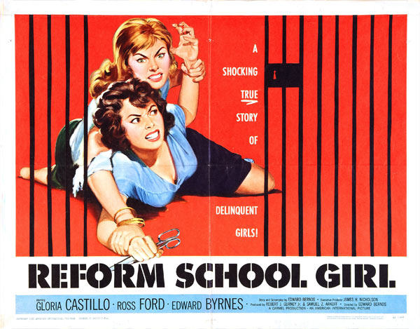 reform school girls classic poster art classic posters funny posters old poster