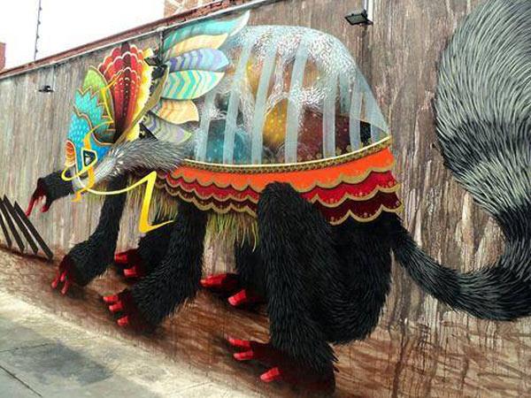 curiot, urban artist, street art, mexico, fabio martinez, graffiti art, wall mural, murals.