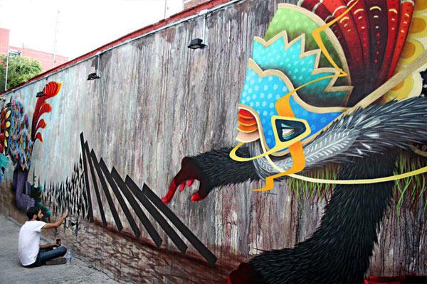 Curiot (aka Fabio Martinez) Urban Artist
