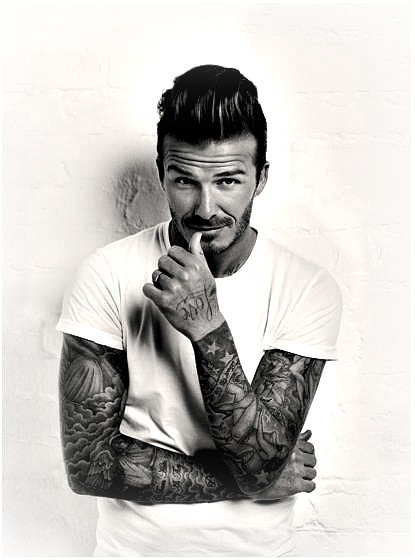 david beckham, tattoo ideas for men, inked men, tattooed men, inked guys, tattoo ideas, cool tattoos, tattoo inspiration.