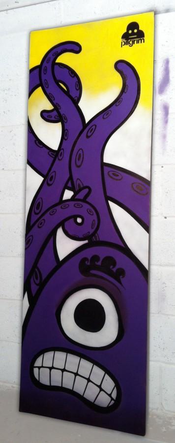 mr pilgrim, urban art, original art for sale, street art, wall art, graffiti art, urban artist.