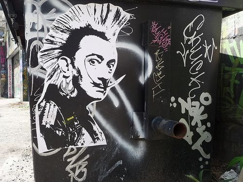 dali, wall murals, street art, urban art, graffiti art, mr pilgrim, roa, mr thoms, pixel pancho, zildra, shepard fairey, obey.