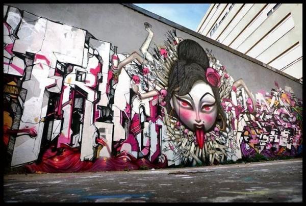 seth, wall murals, street art, urban art, graffiti art, mr pilgrim, roa, mr thoms, pixel pancho, zildra, shepard fairey, obey.