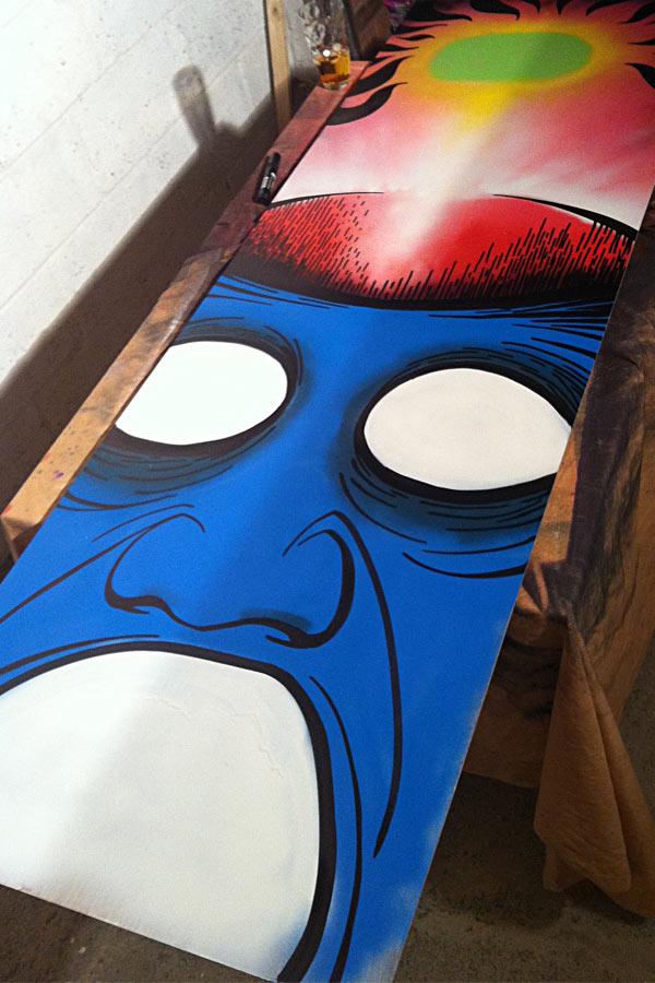 Brain freeze 01 mr pilgrim for Buy street art online