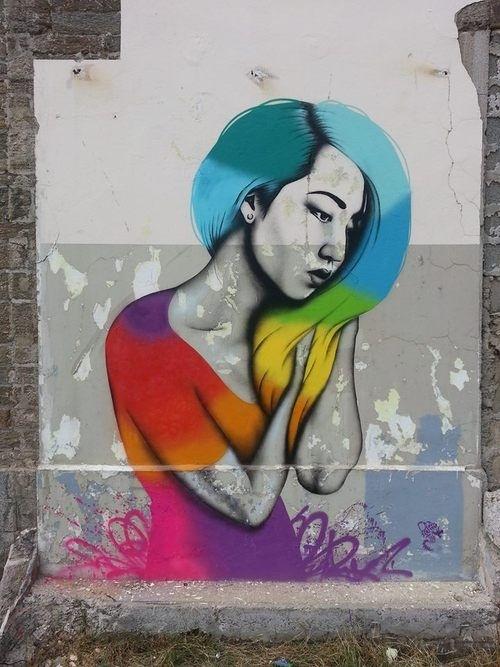 greatest street art, urban art, graffiti art, street artists, urban artists, murals, wall mural, fin dac