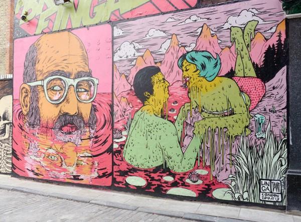 london, street art, urban art, graffiti art, urban artists, street artists, graffiti artists, wall mural, murals, unique murals.