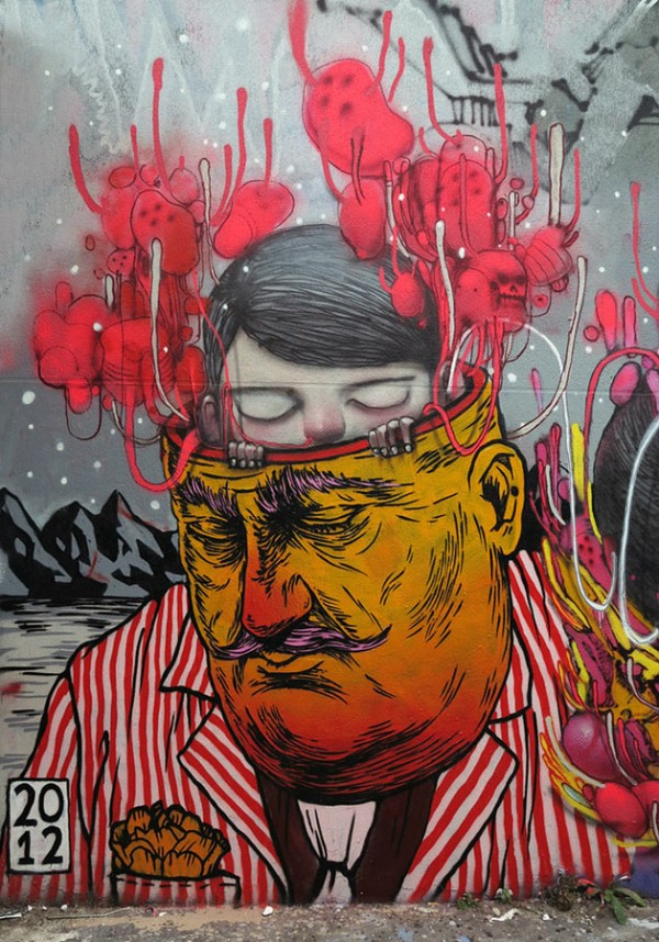 broken fingaz crew, street art, urban art, graffiti art, urban artists, street artists, graffiti artists, wall mural, murals, unique murals.