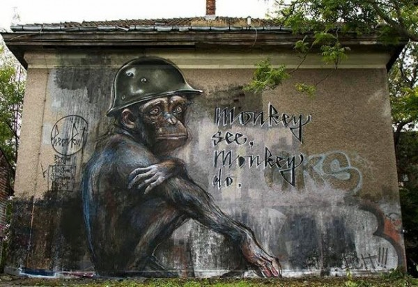 herakut, greatest street art, urban art, graffiti art, street artists, urban artists, murals, wall mural