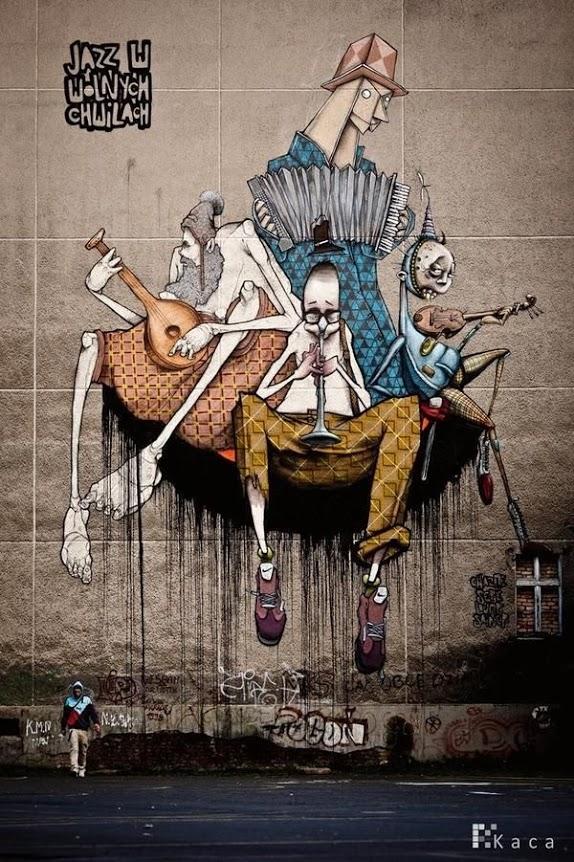 Przemek Blejzyk, greatest street art, urban art, graffiti art, street artists, urban artists, murals, wall mural