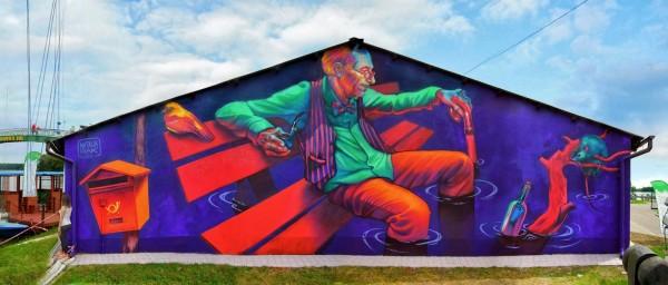 natalia rak, greatest street art, urban art, graffiti art, street artists, urban artists, murals, wall mural