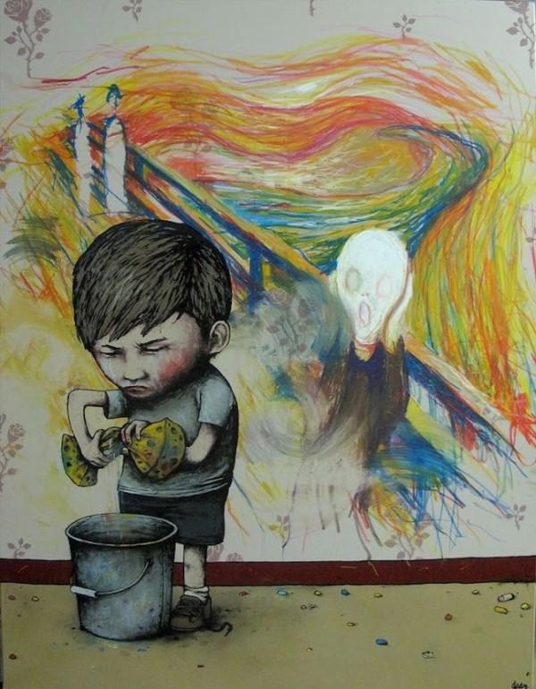 dran, greatest street art, urban art, graffiti art, street artists, urban artists, murals, wall mural