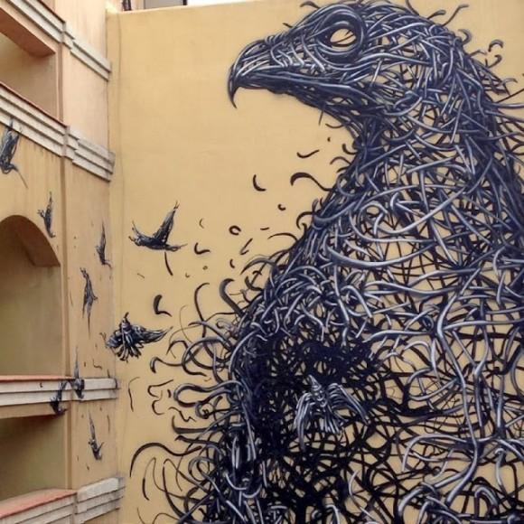 World Street Artists : Volume 12 // Mr Pilgrim Urban Art Wall Murals