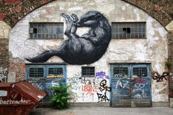 world street art, urban art, graffiti art, street artists, urban artists, wall murals, roa.