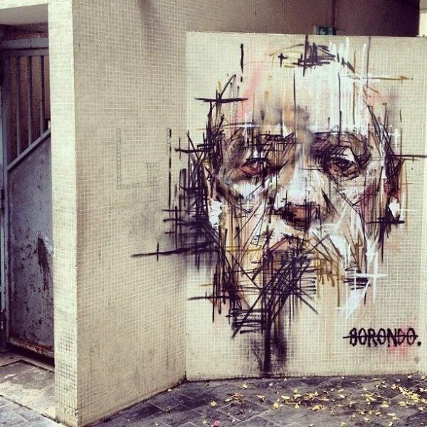 urban art, graffiti art, street artists, urban artists, wall murals, borondo.