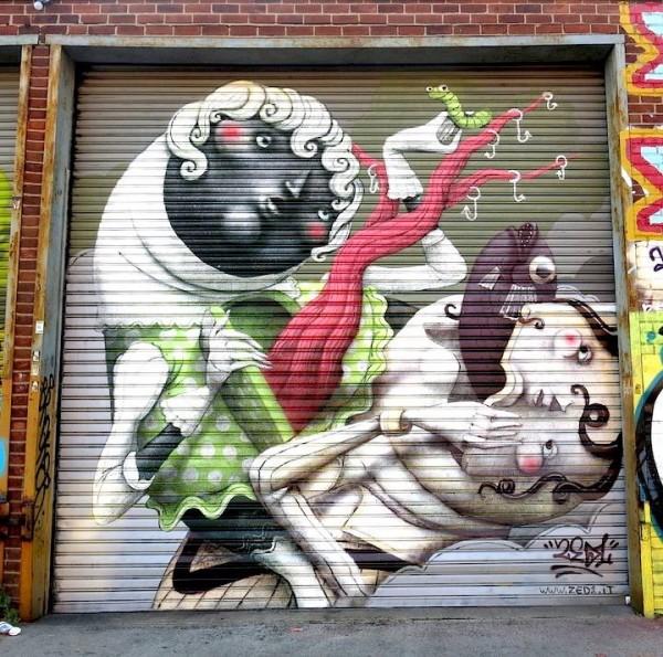 urban art, graffiti art, street artists, urban artists, wall murals, zed1.