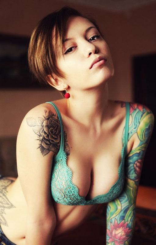 Gorgeous tattooed women