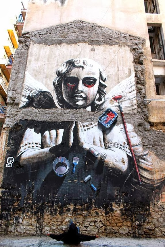 wd, wild drawings, athens, greece,