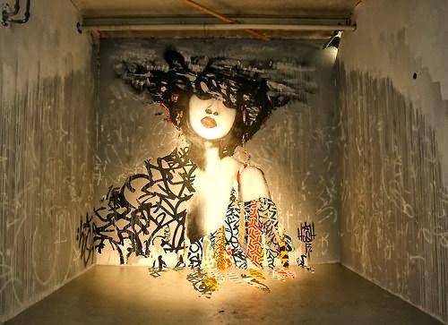 Hush, street art online, urban artists, graffiti artists, street artists, free walls, graffiti.
