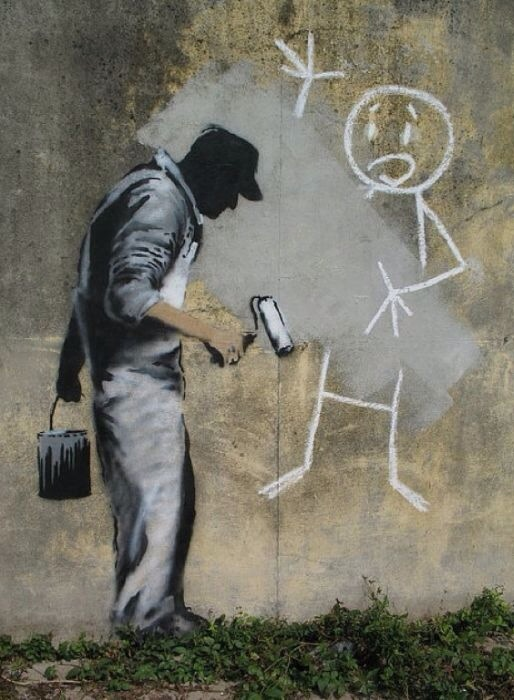 Banksy, global street art, graffiti art around the world, urban art online, murals, free walls, graffiti street art.